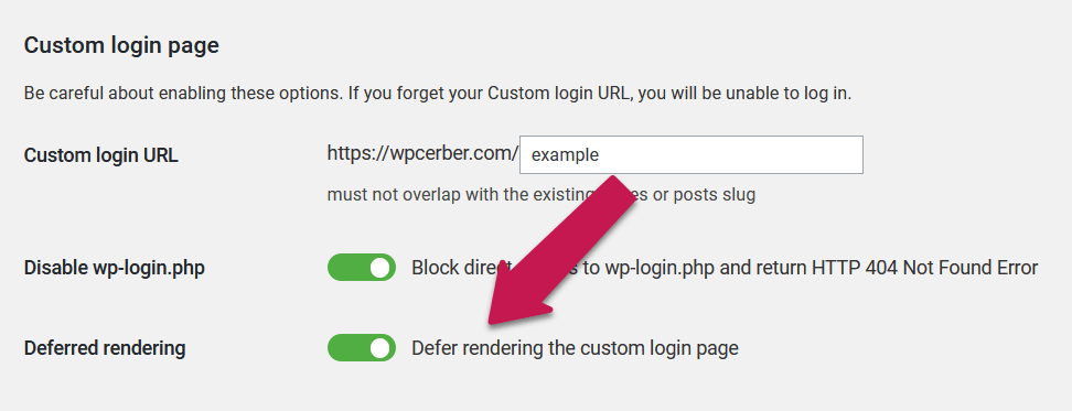 WordPress User Switching and Custom Login Page
