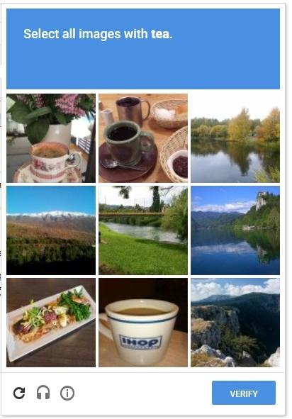 reCAPTCHA antispam plugin