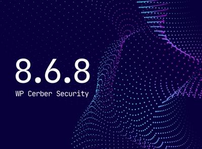 WP Cerber Security 8.6.8