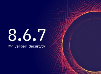 WP Cerber Security 8.6.7
