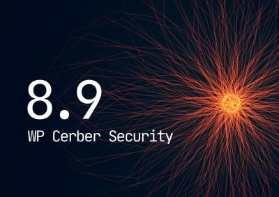 WP Cerber Security 8.9