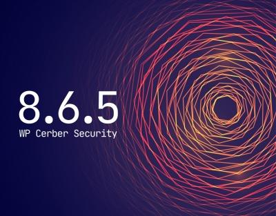 WP Cerber Security 8.6.5