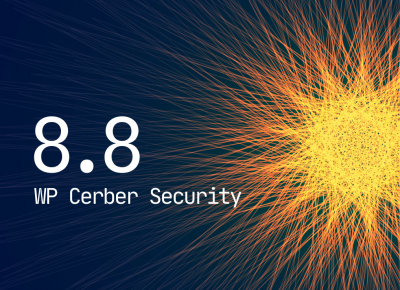 WP Cerber Security 8.8