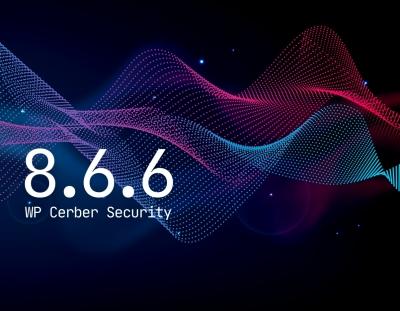 WP Cerber Security 8.6.6
