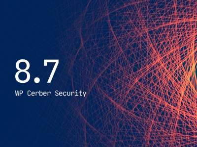 WP Cerber Security 8.7